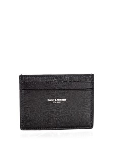 saint laurent card holder men